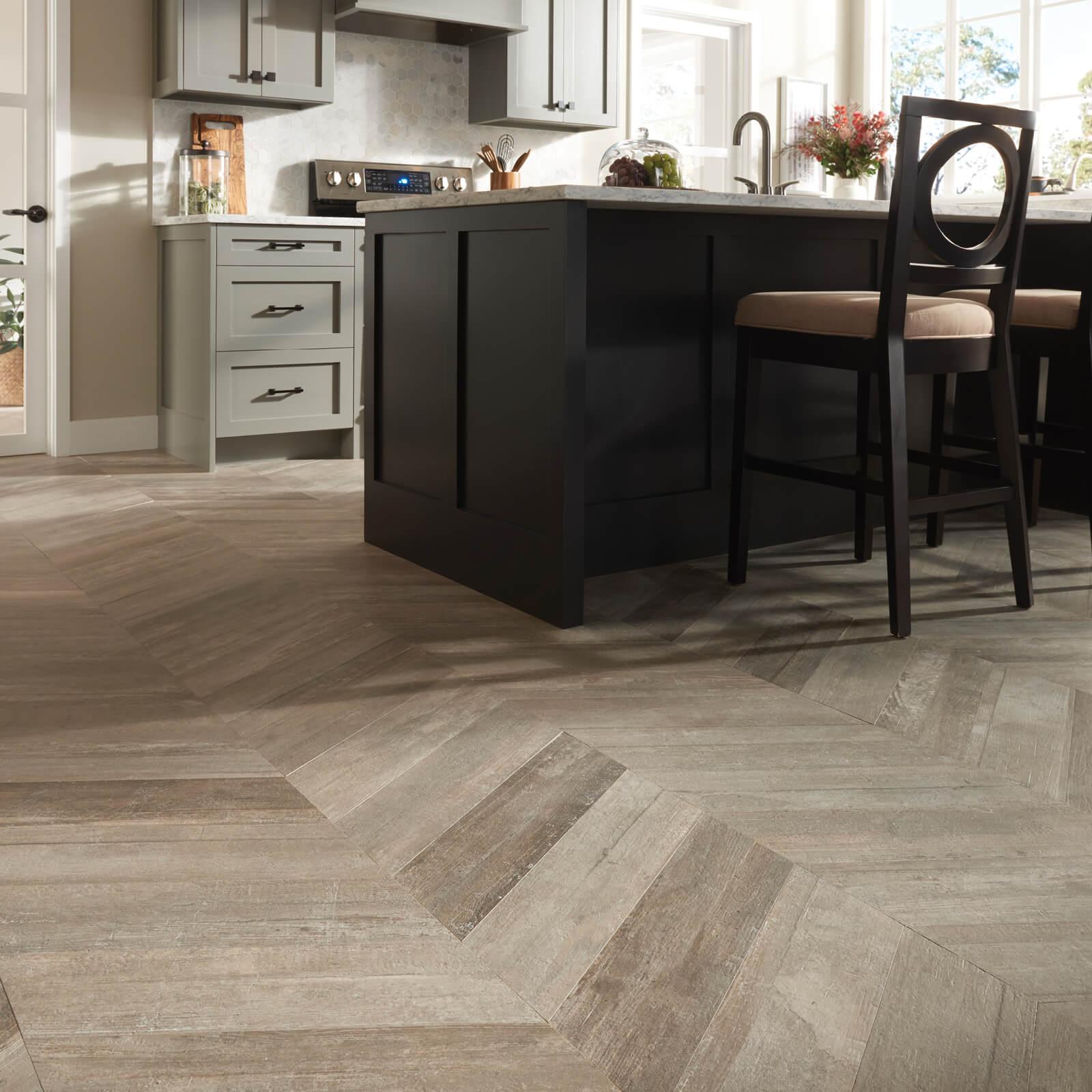 Glee chevron tile flooring | PDJ Flooring