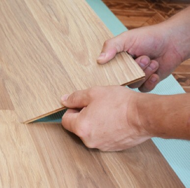 Laminate Vinyl installation | PDJ Flooring