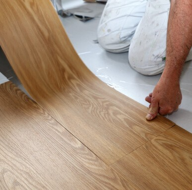 Laminate Vinyl Installation