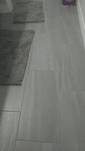 12x24 porcelain tile bathroom floor