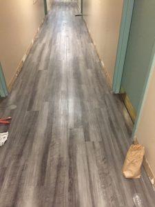 Waterproof glue down luxury vinyl plank 3