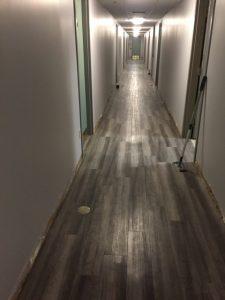 Waterproof glue down luxury vinyl plank 4