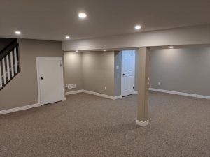 Durable berber carpet basement | PDJ Flooring