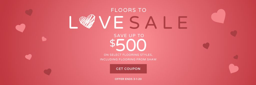 Floors to Love Sale | PDJ Flooring