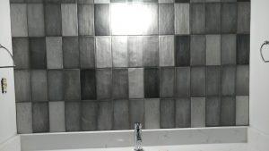 high variation vertically stacked subway tile | PDJ Flooring