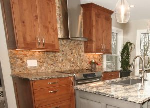 Kitchen Stove Back Splash | PDJ Flooring