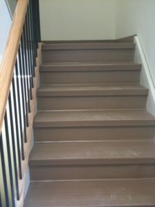 rubber and vinyl stair treads   PDJ Flooring