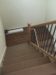 rubber and vinyl stair treads