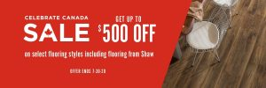 Celebrate canada sale | PDJ Flooring